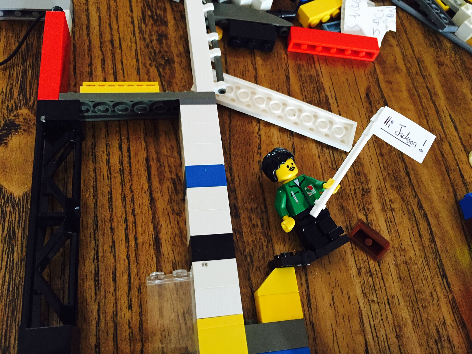 Lego creating and making