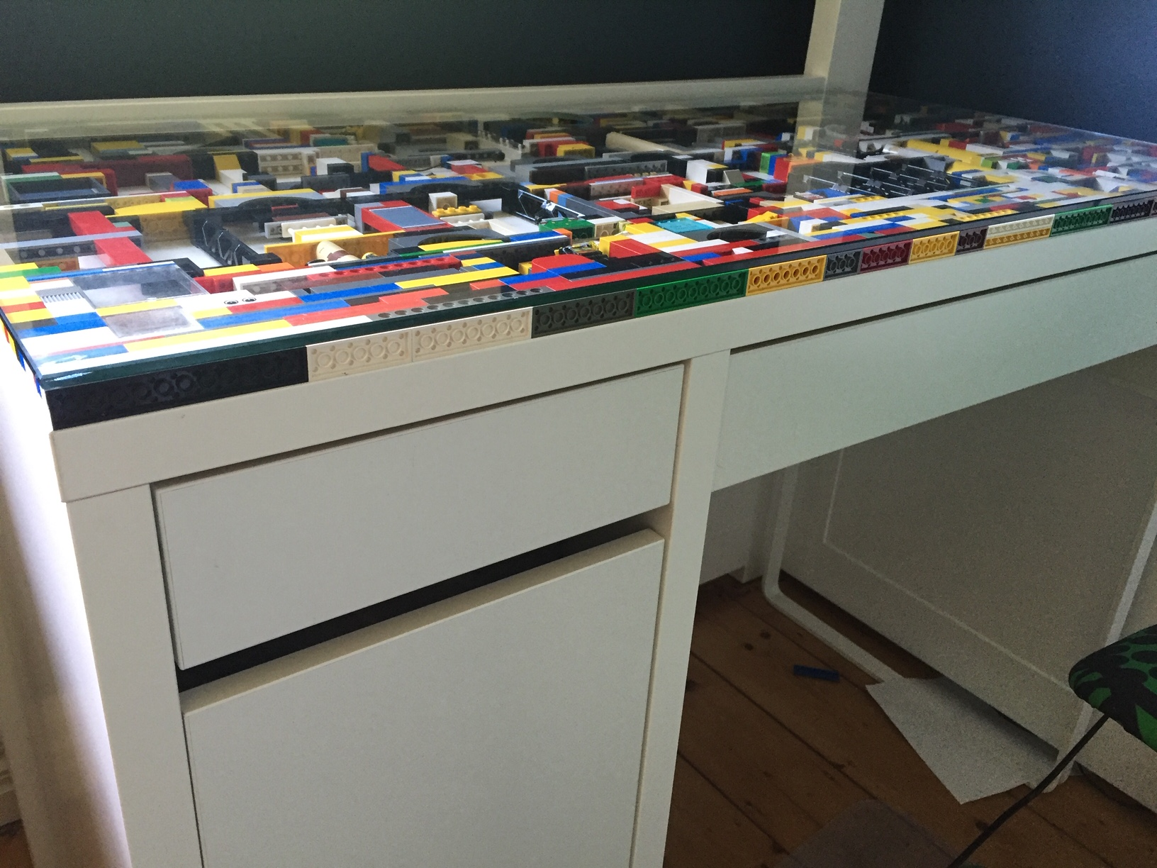 Lego table is complete