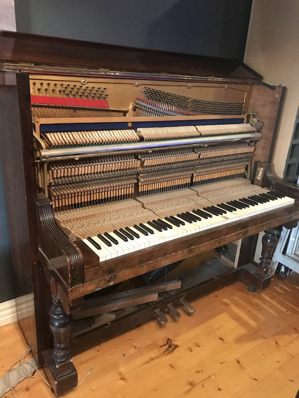 Disassembly of the Piano