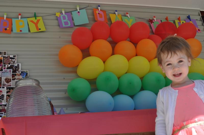 Photo balloon area