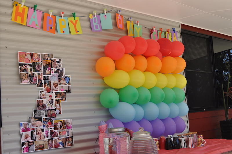 2nd year old birthday party