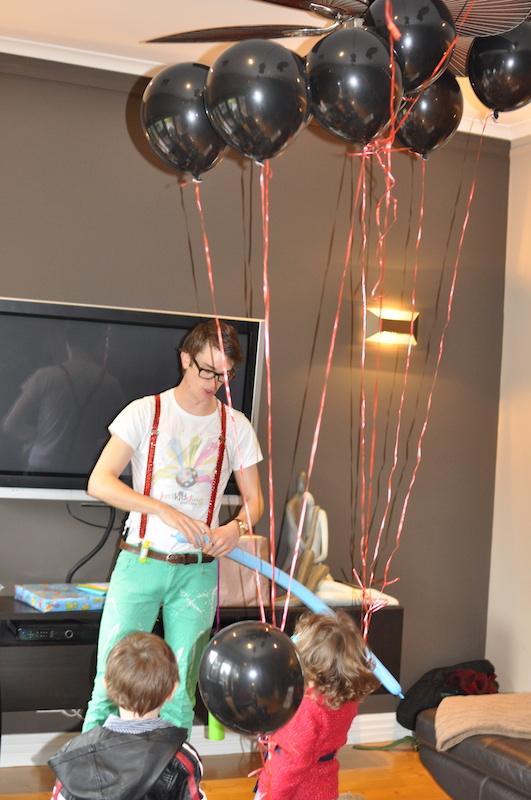 Kids birthday party entertainment