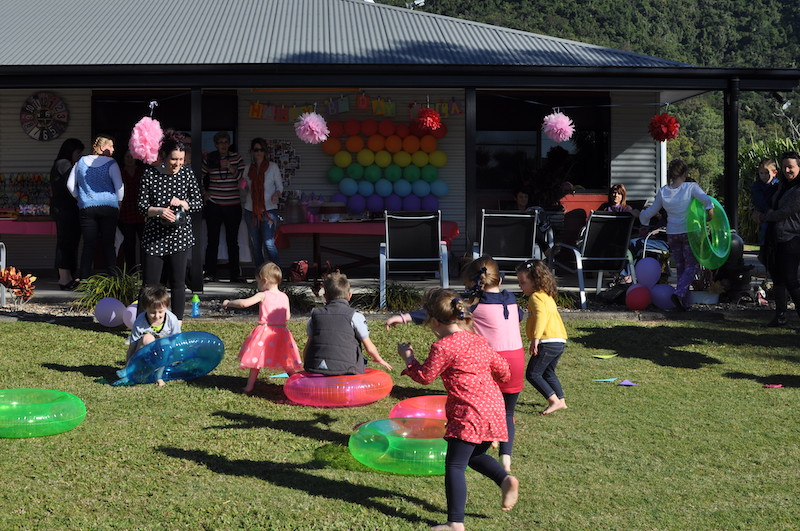 Musical games for a birthday party