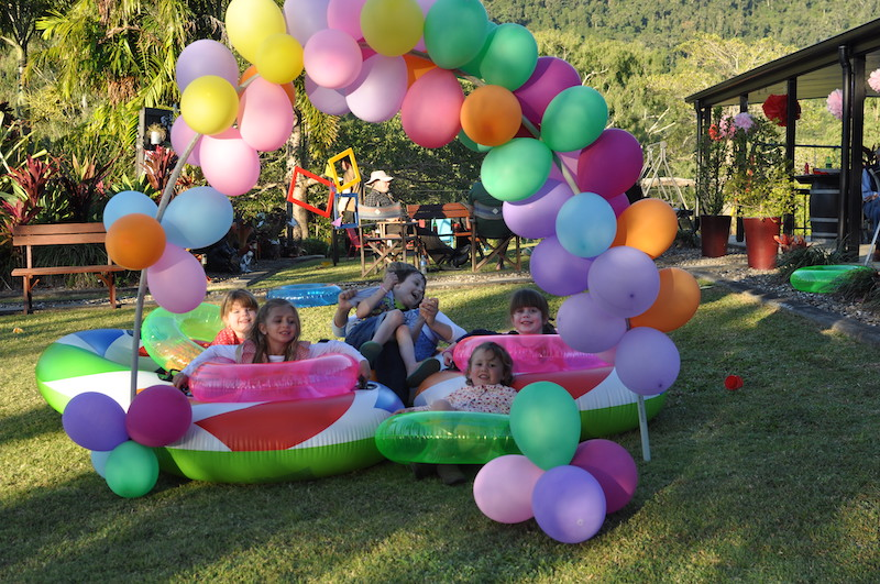 Balloon arch for epic party