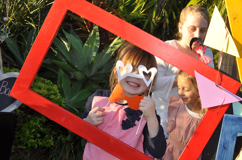 Photo booth in the country