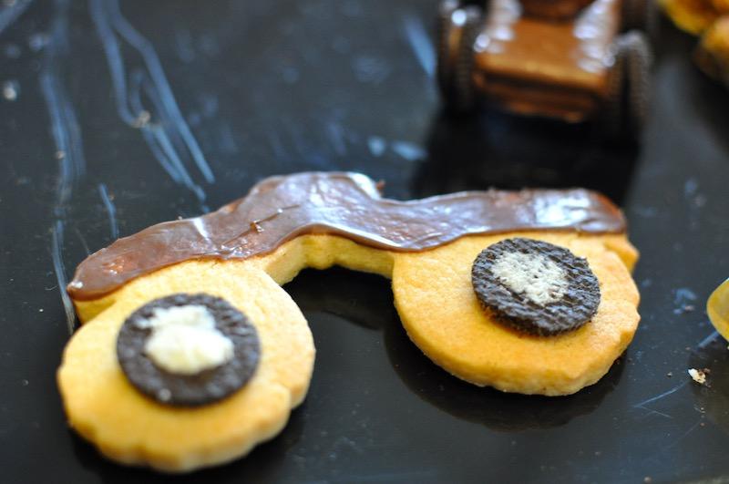 Monster truck cookies