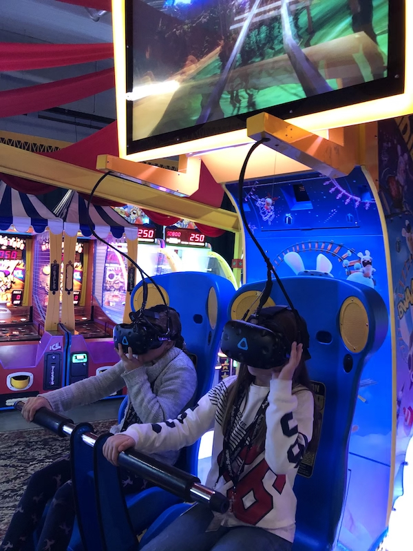 Virtual reality at Archie brothers