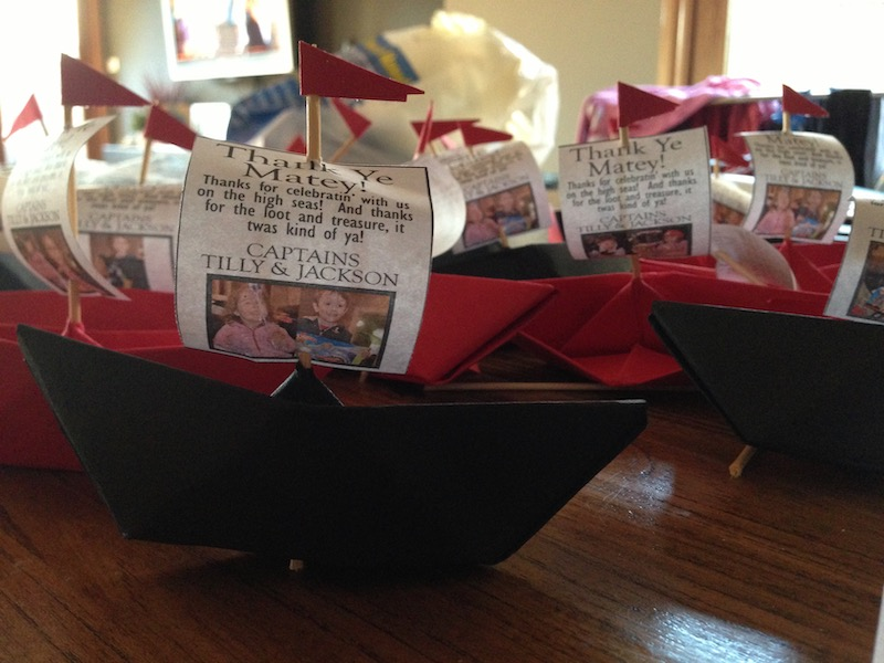 Pirate party favours