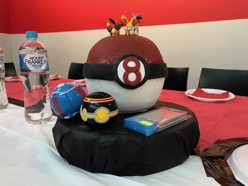 Pokemon 8th birthday cake