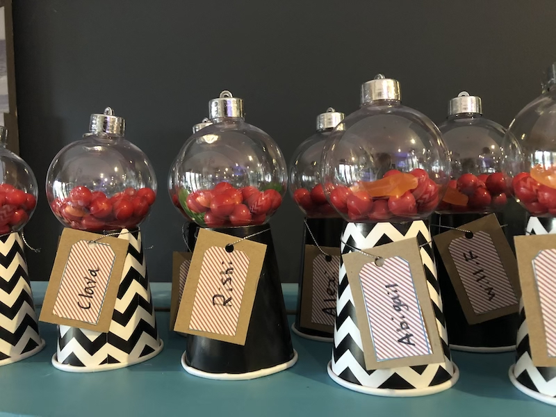 Party Favour circus themed
