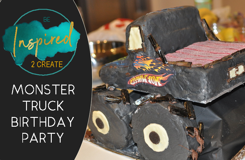 Monster Truck Theme Birthday Party