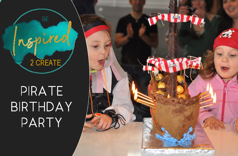 Arrrr! It's a Pirate Birthday Party