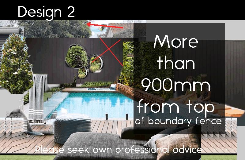 Design 2 pool design not compliant